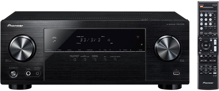 Pioneer VSX-531D-B, černá