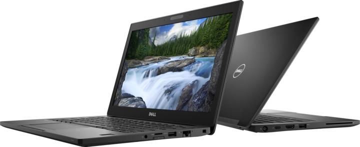 Dell Latitude 12 (7290), černá