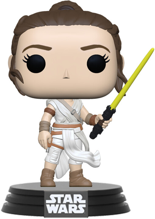Figurka Funko POP! Star Wars - Rey with Yellow Lightsaber