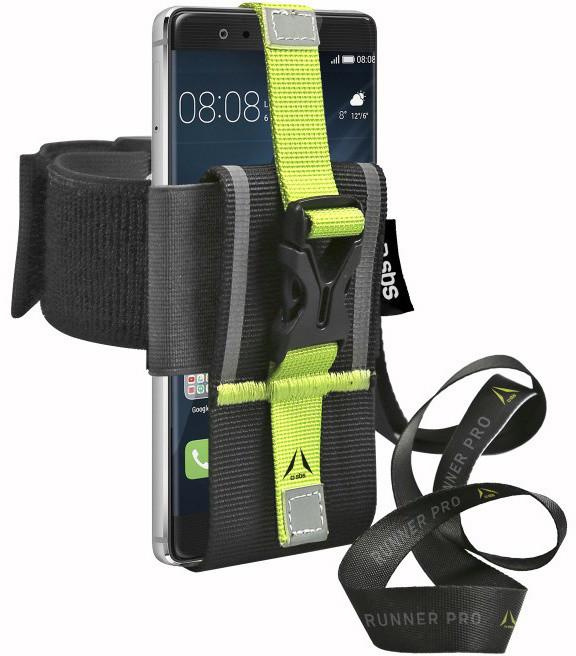 SBS Multifunkční sportovní pouzdro pro smartphone, černá