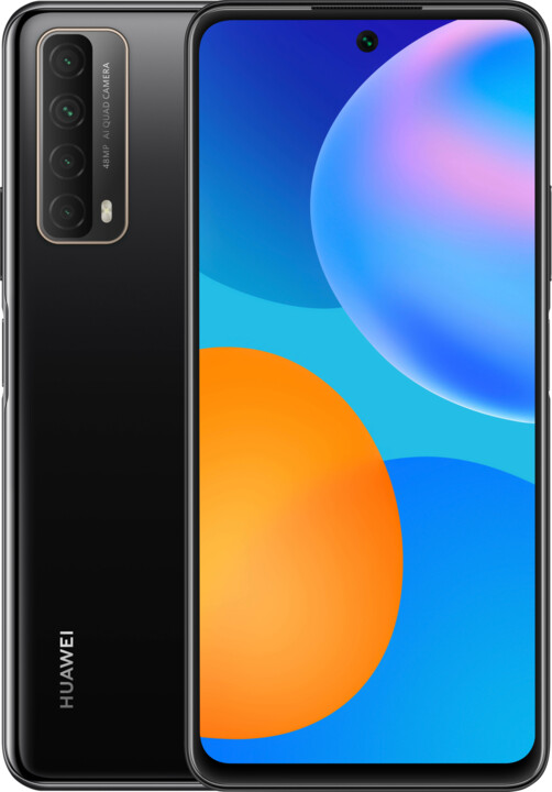 Huawei P Smart 2021, 4GB/128GB, Midnight Black