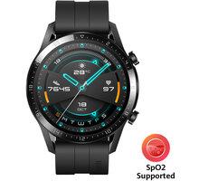 Huawei Watch GT 2 Fluoroelastomer Strap, Black - 55024474