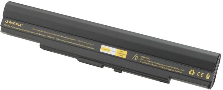 Patona baterie pro ASUS, UL30, UL50, UL80 4400mAh Li-Ion 14,8V