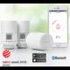 Danfoss Eco Bluetooth, 3 x inteligentní radiátorová termostatická hlavice, bílá