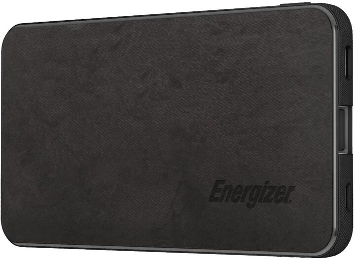 Energizer powerbanka, USB-C, 5000mAh, 5V, 2.1A, černá