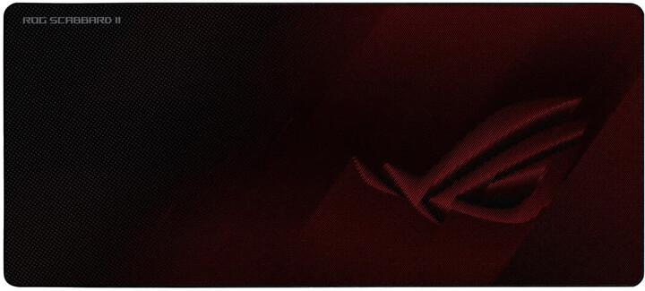 ASUS ROG Scabbard II, červená