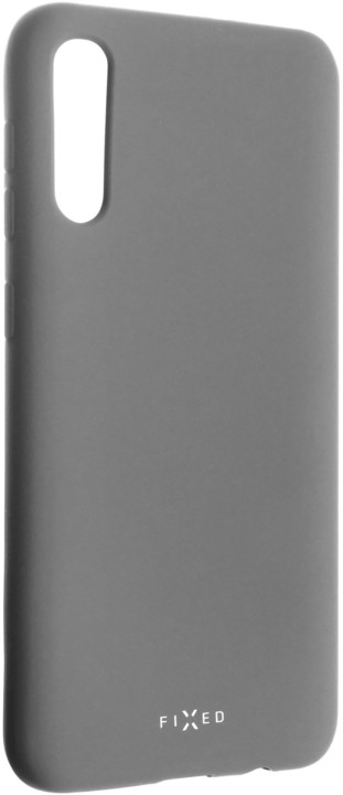 FIXED zadní pogumovaný kryt Story pro Samsung Galaxy A50, šedá