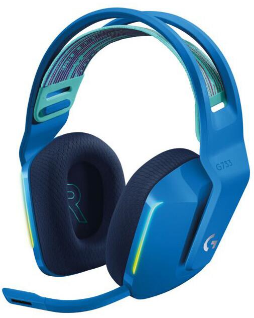 Logitech G733 Lightspeed, modrá