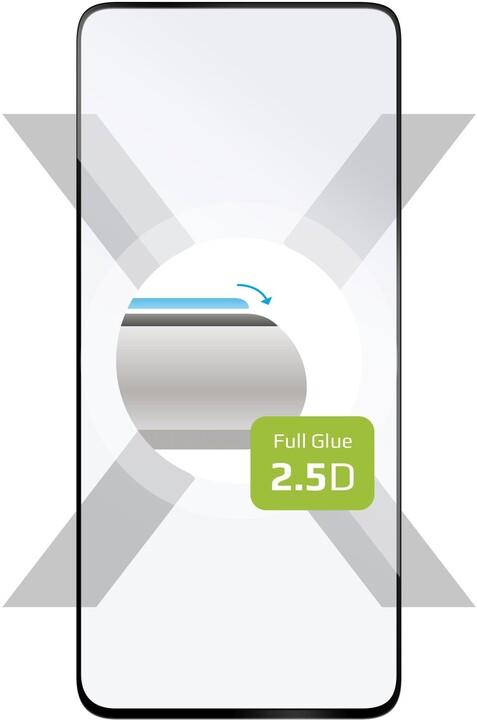 FIXED ochranné tvrzené sklo Full-Cover pro OnePlus Nord, lepení přes celý displej, 2.5D, černá