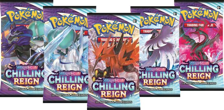 Karetní hra Pokémon TCG: Sword and Shield Chilling Reign - Booster