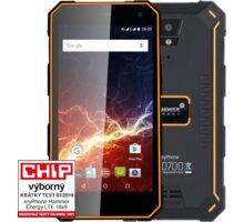 myPhone HAMMER ENERGY LTE 18x9, 3GB/32GB, černá/oranžová - TELMYAHENER189LOR + Repro Forever BS-400, přenosné, bezdrátové, černá v hodnotě 590 Kč