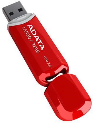 ADATA UV150 32GB červená
