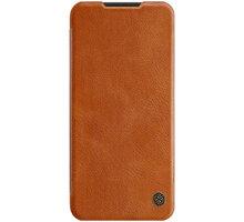 Nillkin Qin Book pouzdro pro Xiaomi Redmi Note 8T, hnědá - 2450013