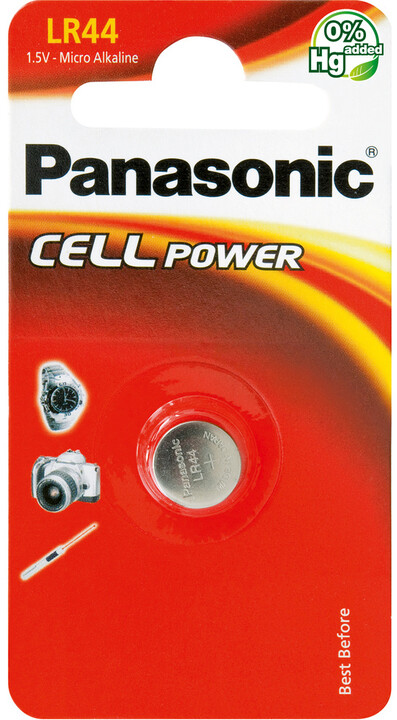 Panasonic baterie A76/LR44/V13GA 1BP Alk