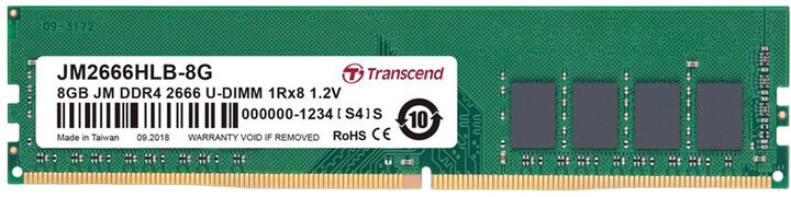 Transcend 8GB DDR4 2666
