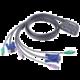 ATEN 2-port KVM PS/2 mini, 1.2m