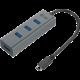 i-tec USB-C Metal 4-portový HUB, 4x USB 3.0