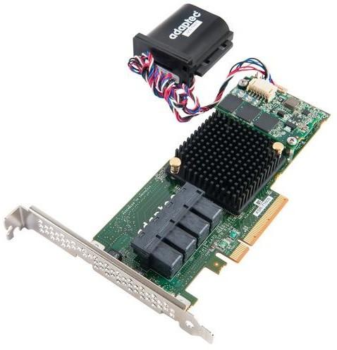 Microsemi Adaptec RAID 71605Q Single SAS/SATA 16 portů, x8 PCIe