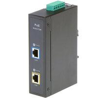 MaxLink PoE injektor DIN30 - 802.3af/at, 55V/0.55A, 30W, 1Gbit - MAXPIDIN30
