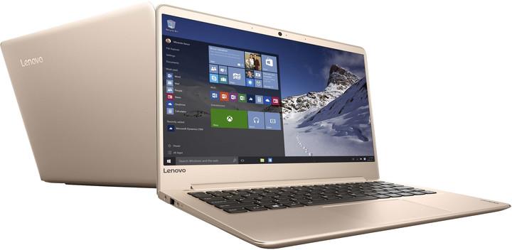 Lenovo IdeaPad 710S-13IKB, zlatá