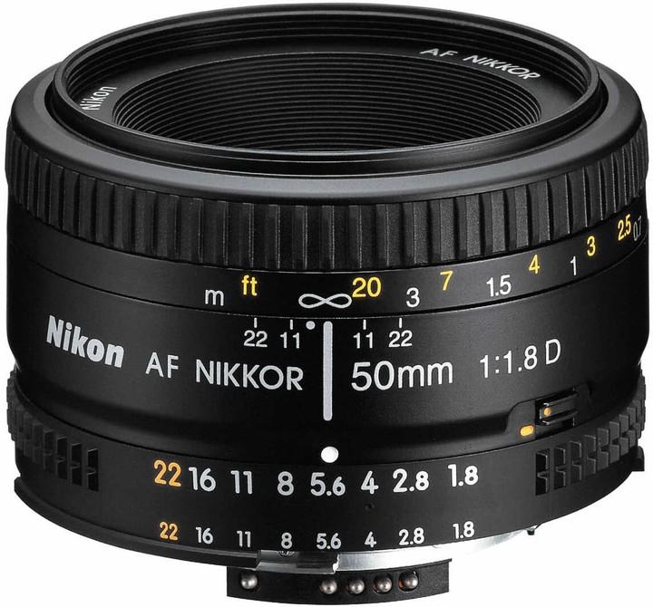 Nikon objektiv Nikkor 50mm f/1.8D AF
