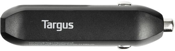 Targus univerzální auto adaptér 2xUSB, 4.8A, černá