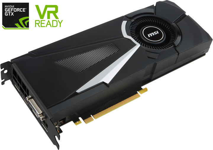 MSI GeForce GTX 1080 AERO 8G, 8GB DDR5X