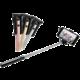 FIXED Snap Mini kompaktní selfie stick, spoušť přes 3,5 mm jack, stříbrný