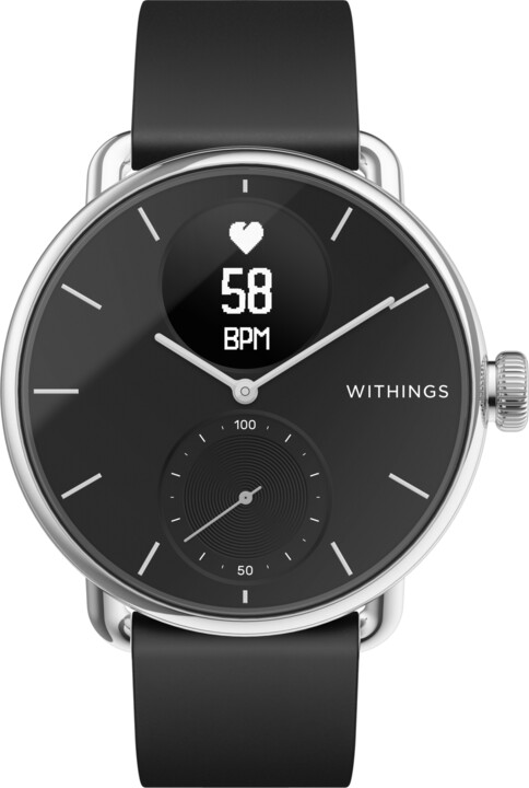 Withings Scanwatch 38mm, Black