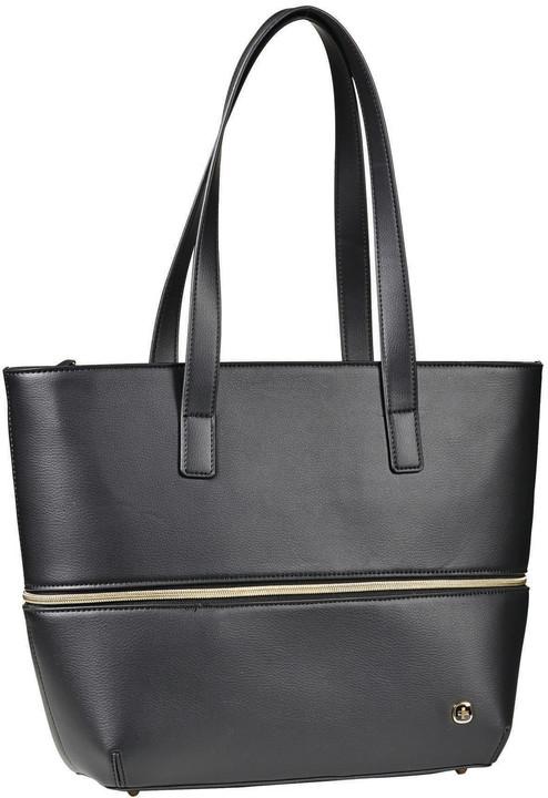 """WENGER EVA - 13"""" dámská kabelka s obalem na notebook, černá/floral"""