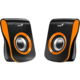 Černo - oranžová