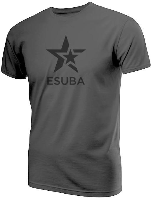 Tričko eSuba Dark, šedé (L)