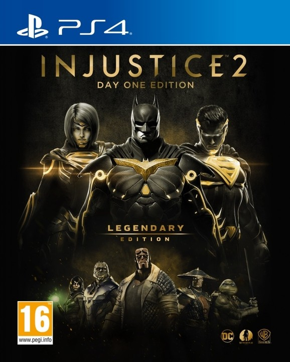 Injustice 2: Legendary Edition - Day One Edition (PS4)
