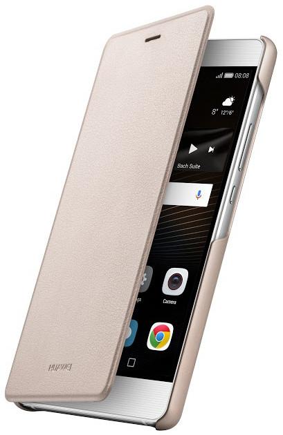 Huawei Original Folio Pouzdro Gold pro P9 Lite (EU Blister)