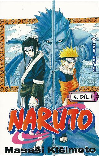 Komiks Naruto: Most hrdinů, 4.díl, manga