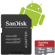 SanDisk Micro SDHC Ultra Android 16GB 98MB/s A1 UHS-I + SD adaptér