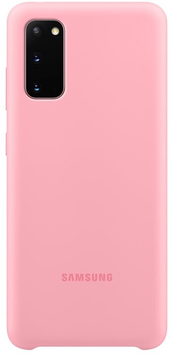 Samsung silikonový kryt pro Galaxy S20, růžová