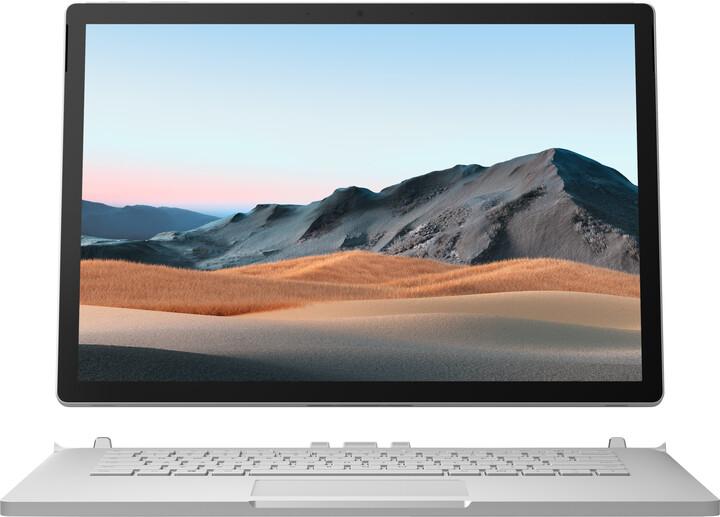 Microsoft Surface Book 3, stříbrná