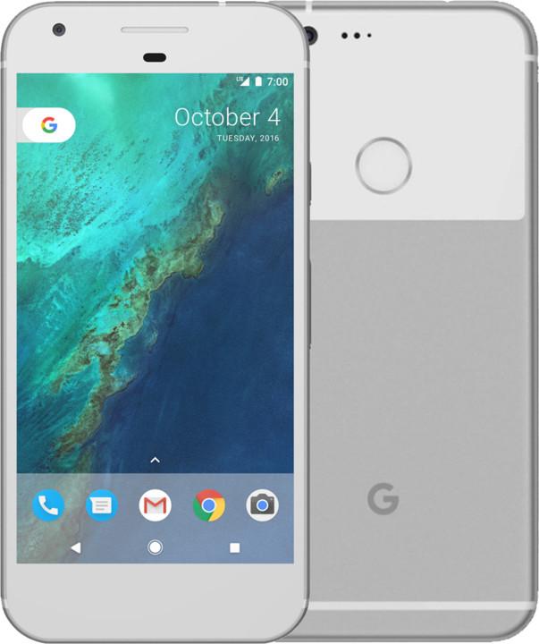 Google Pixel - 32GB, stříbrná