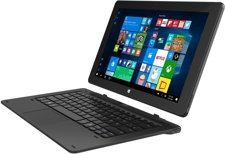 TrekStor Hvězdný tablet SurfTab twin 11.6, černá