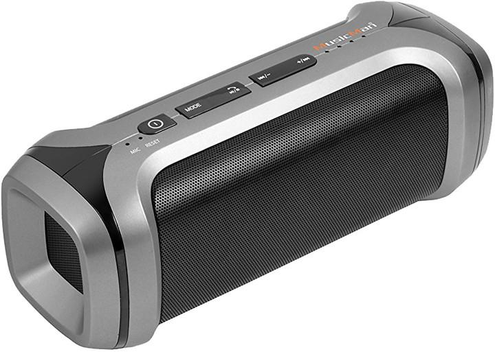Technaxx PowerBank MusicMan, stříbrná