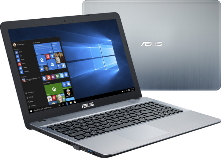 ASUS VivoBook Max X541NA, stříbrná