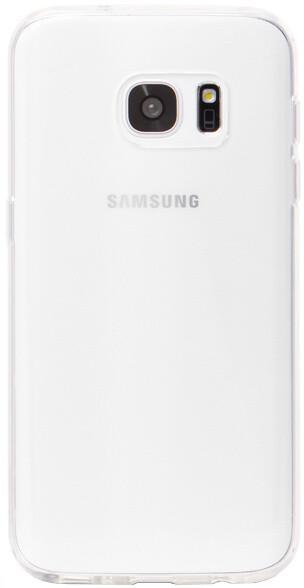 EPICO pružný plastový kryt ESPERIA pro Samsung Galaxy S7 RONNY GLOSS - bílý transparentní
