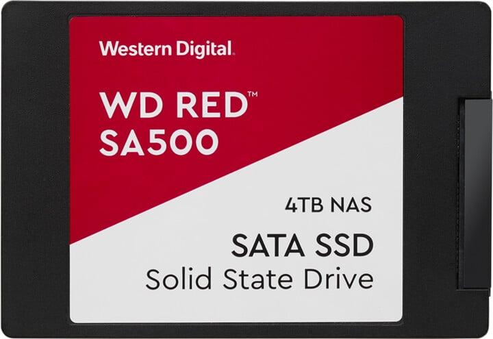 """WD Red SA500 SSD, 2,5"""" - 2TB"""