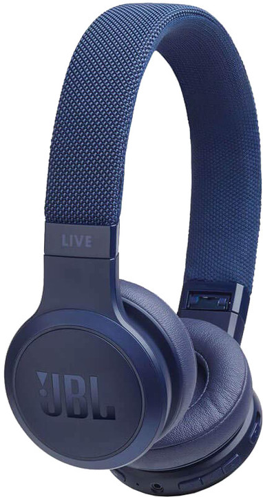 JBL Live 400BT, modrá