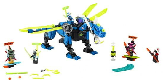 LEGO® Ninjago 71711 Jayův kyberdrak