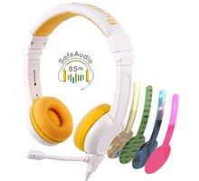 Buddyphones School+, žlutá - BP-SCHOOLP-YELLOW