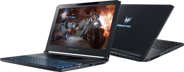 Acer Predator Triton 700 kovový (PT715-51-73ZP), černá