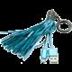 MIZOO USB/microUSB přívěsek X900, modrý