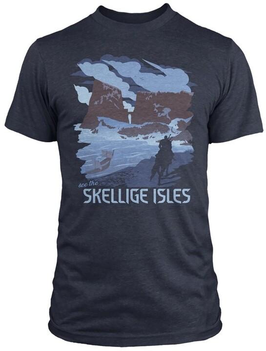 Tričko The Witcher - See the Skellige Isles (US S / EU M)
